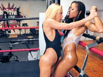 Carter Cruise and Kira Noir: Slippery Showdown