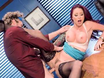 Monique Alexander got a boss pussy licking from the best employee in office